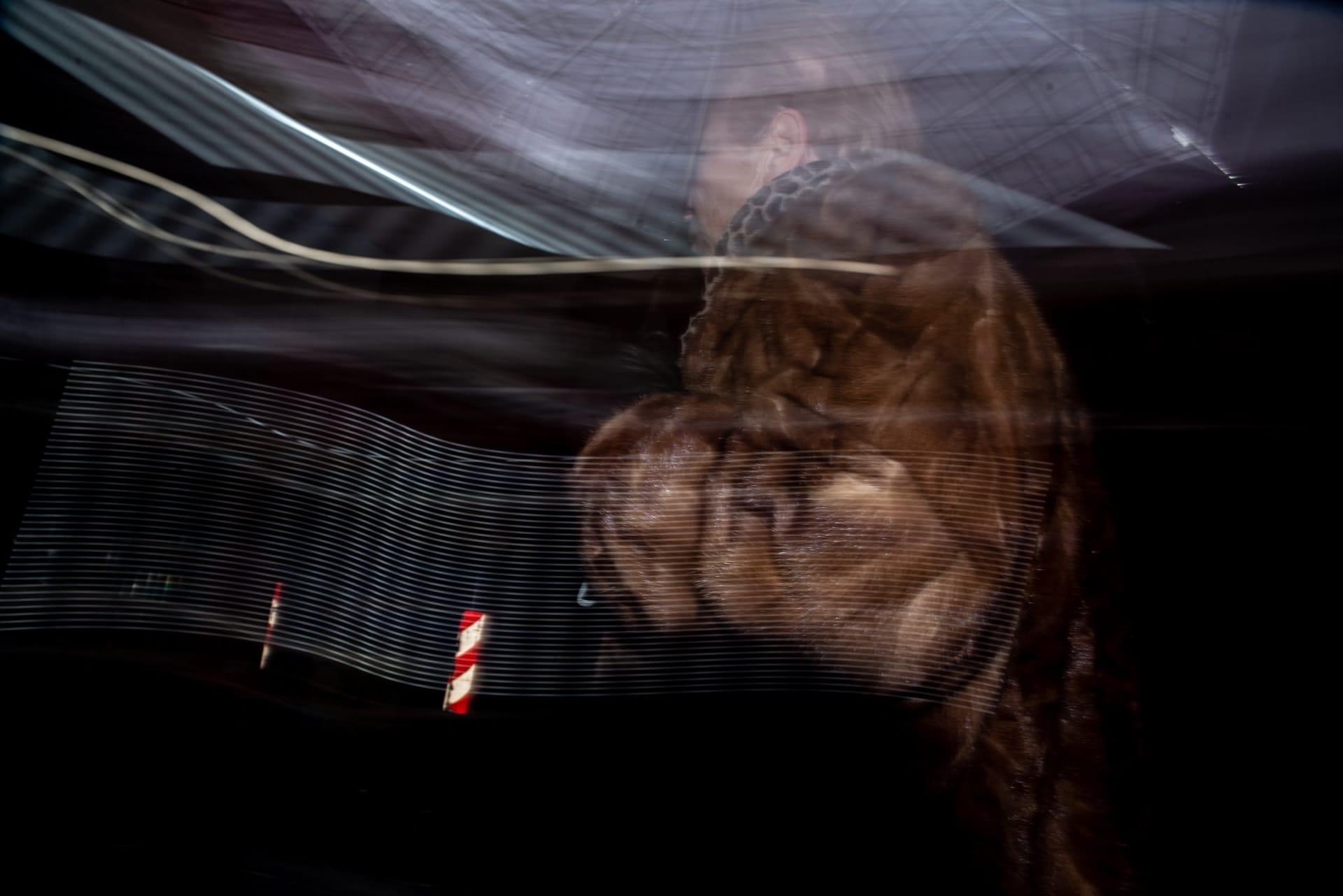 """Flash Street Photography"" Street Photograph by Akis Tachmatzidis"