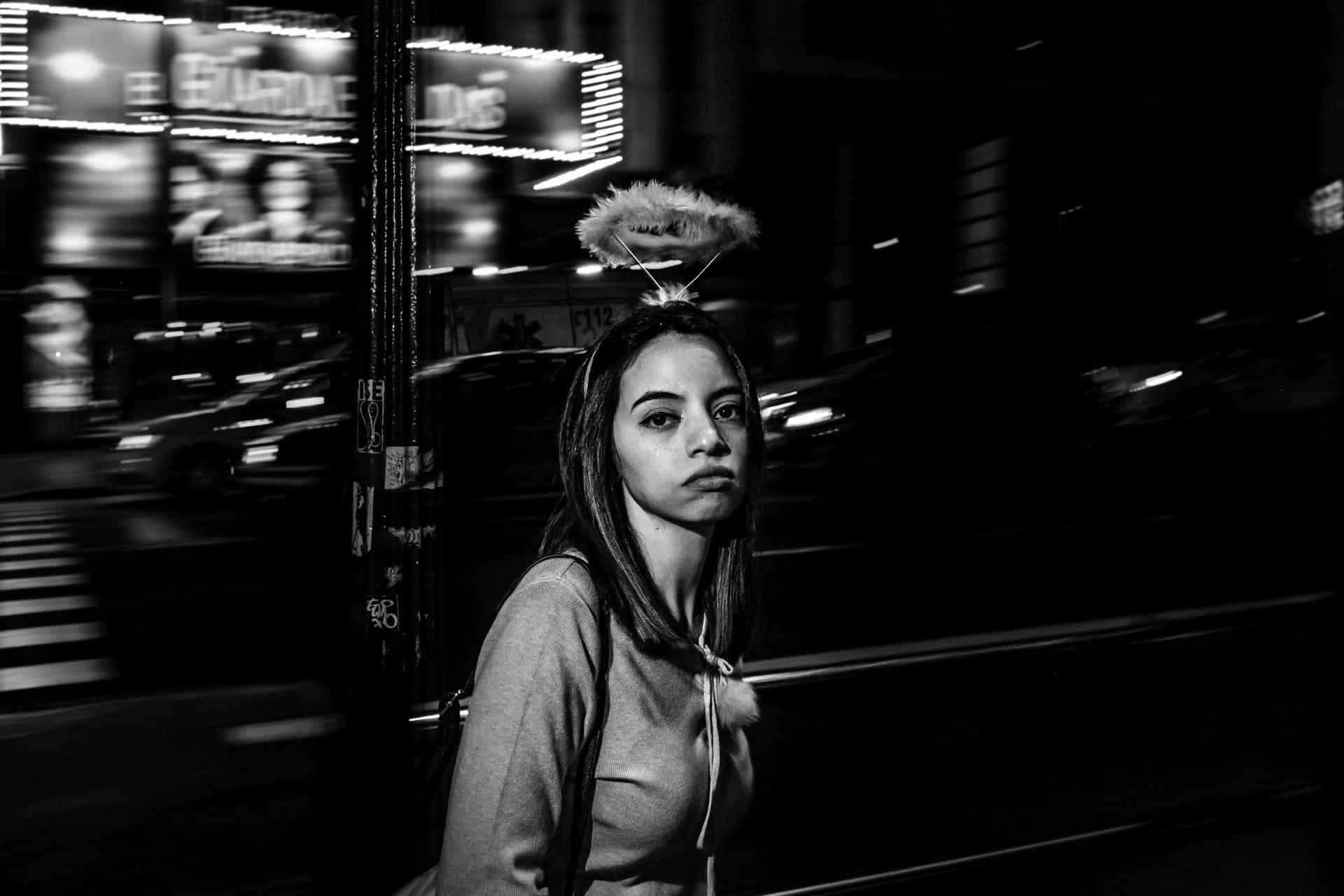 """Flash Street Photography"" Street Photograph by Antonio Balsera"