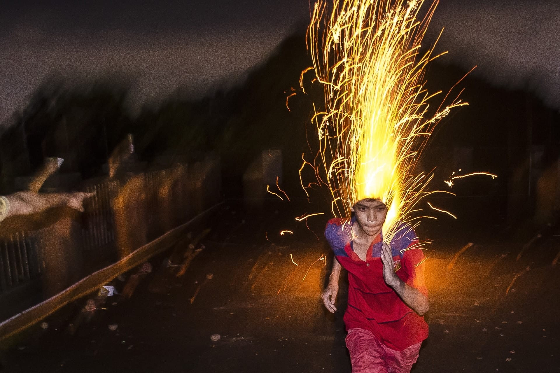 """""""Flash Street Photography"""" Street Photograph by Ayanava Sil"""