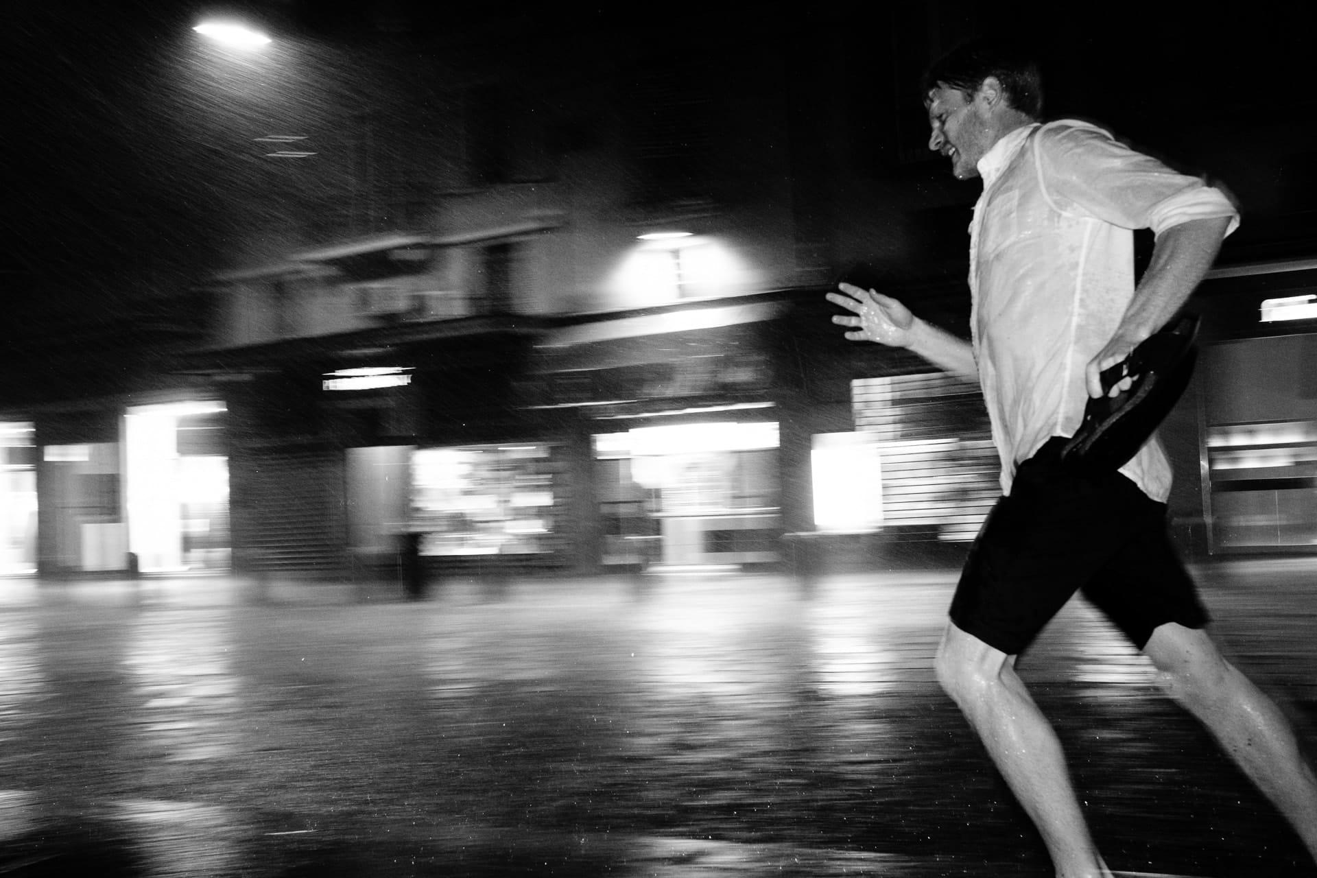 Rainy day street photograph by andrea bellettini