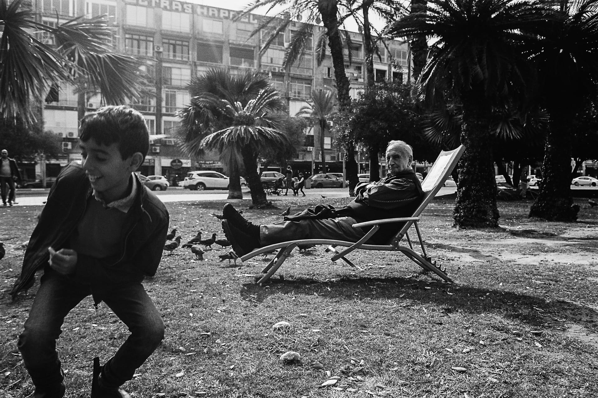 """Old & Young"" Street Photograph by Omri Shomer"