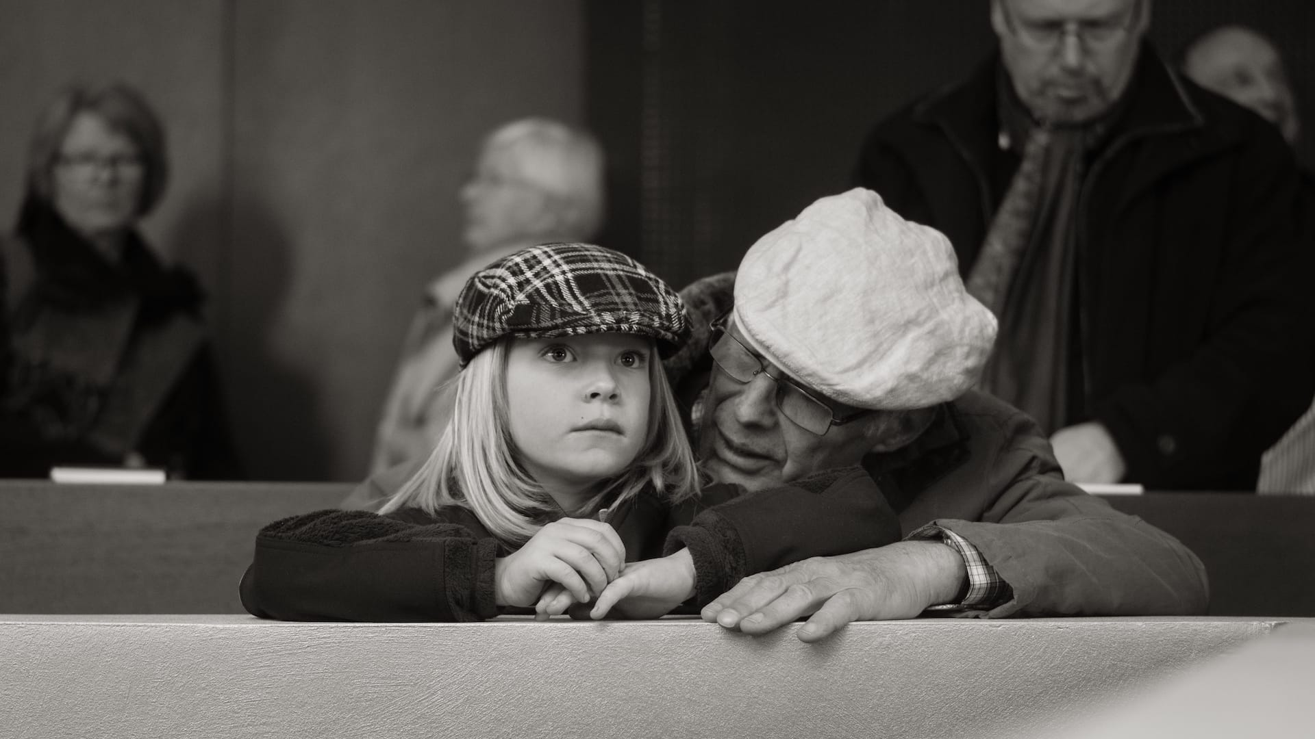 """""""Old & Young"""" Street Photograph by Achim Katzberg"""