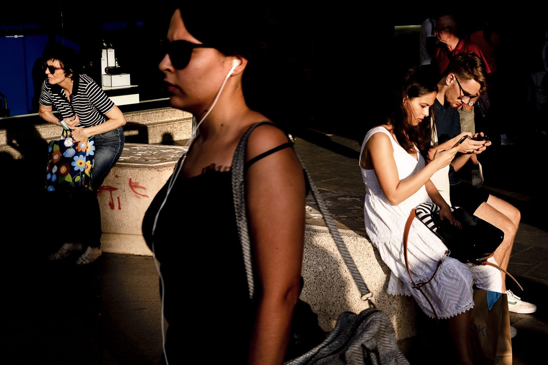 """Layers"" Street Photograph by Carlos Rebolledo"