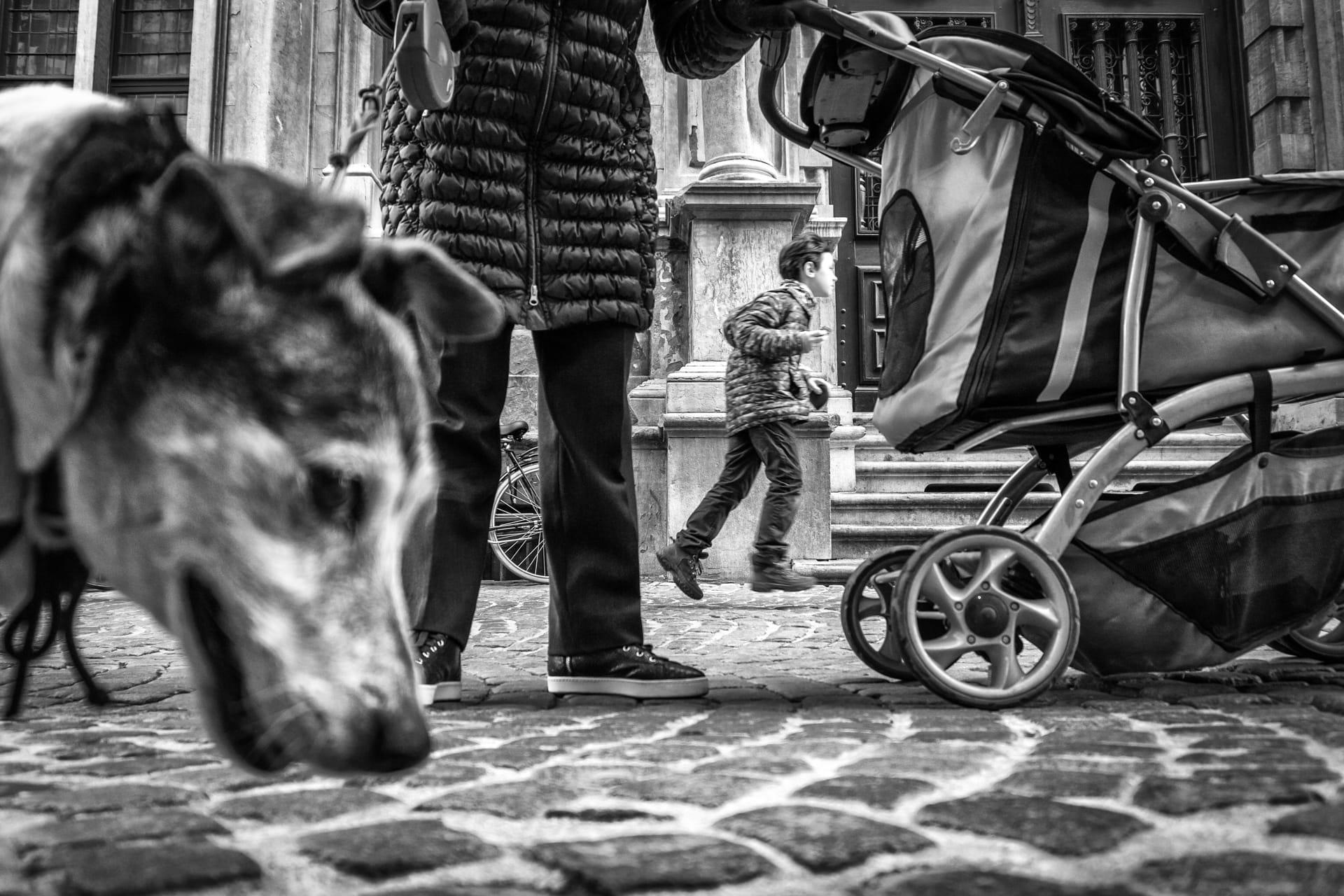 """Layers"" Street Photograph by John Bastoen"
