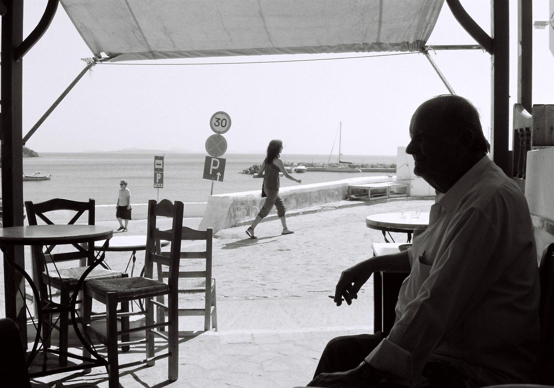 """Layers"" Street Photograph by Yiannis Linosporis"