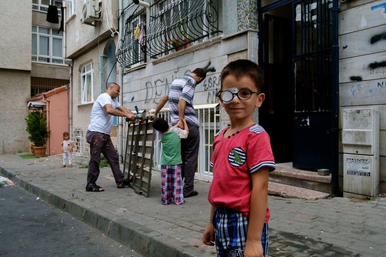 Istanbul - Eye patch