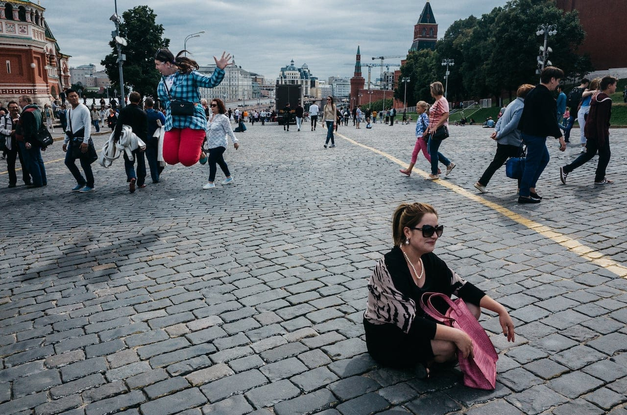 Moscow - Jump and Sit
