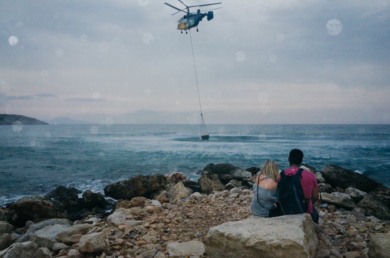 Rethymno - Chopper and couple