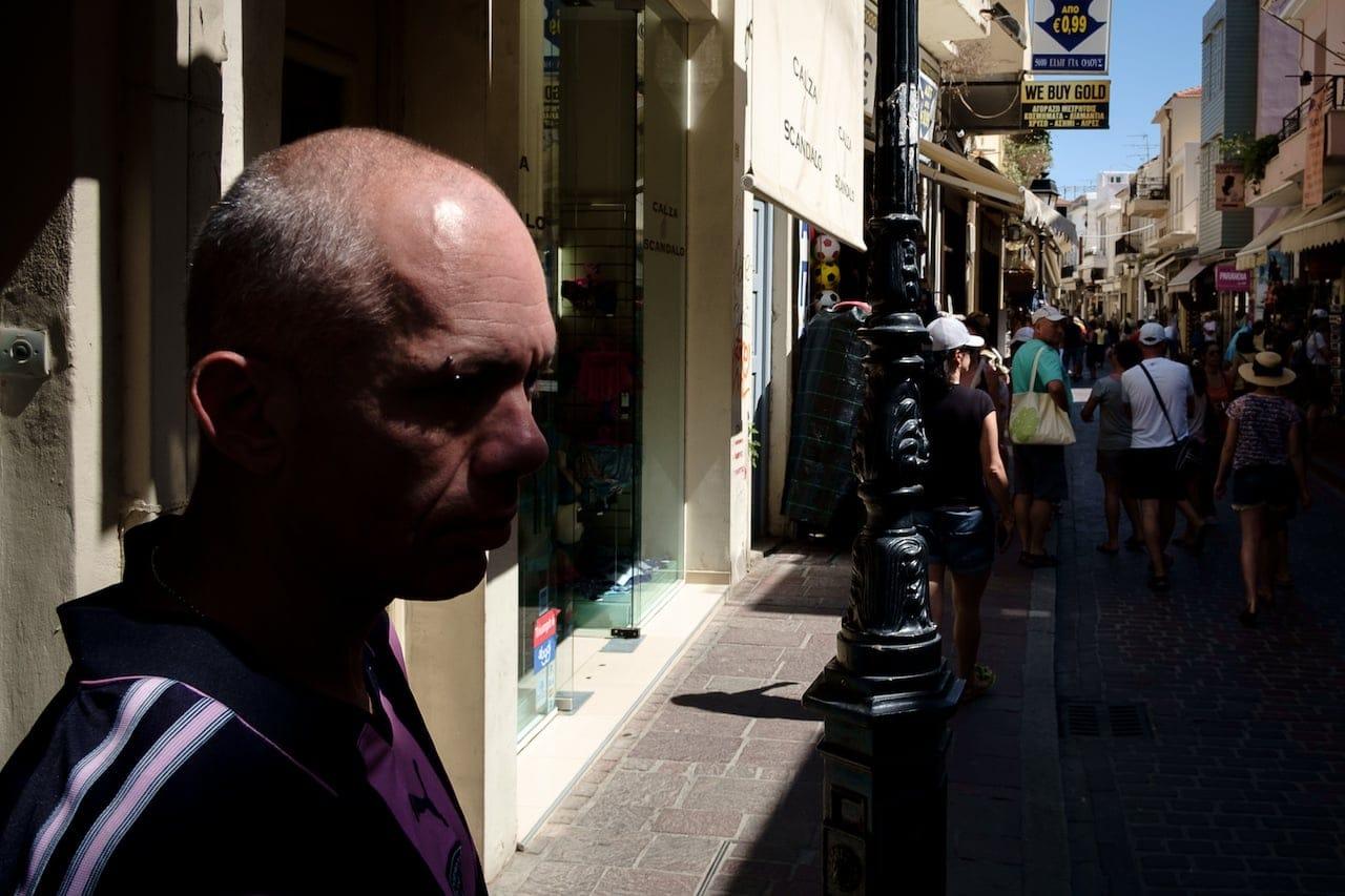Rethymno - Eye piercing