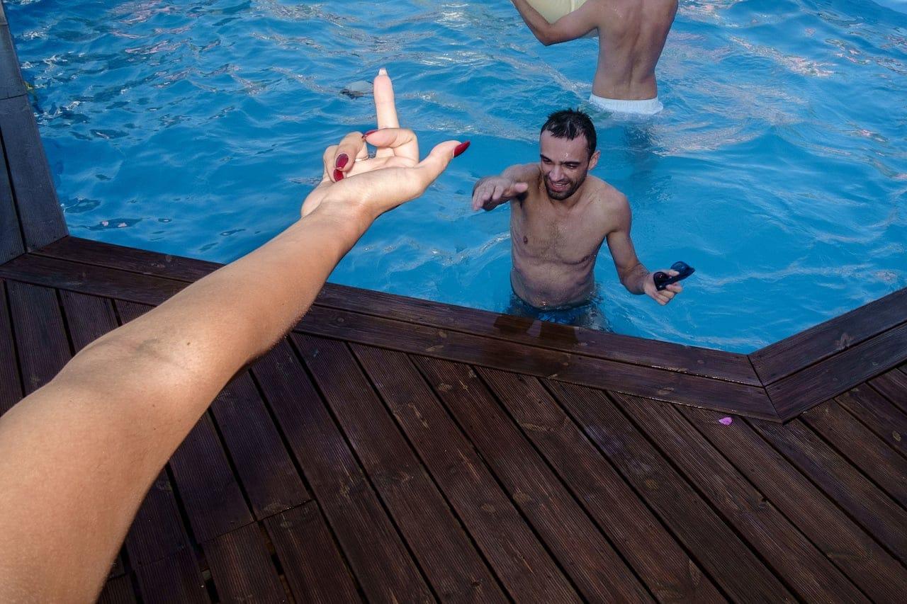Rethymno - The Finger