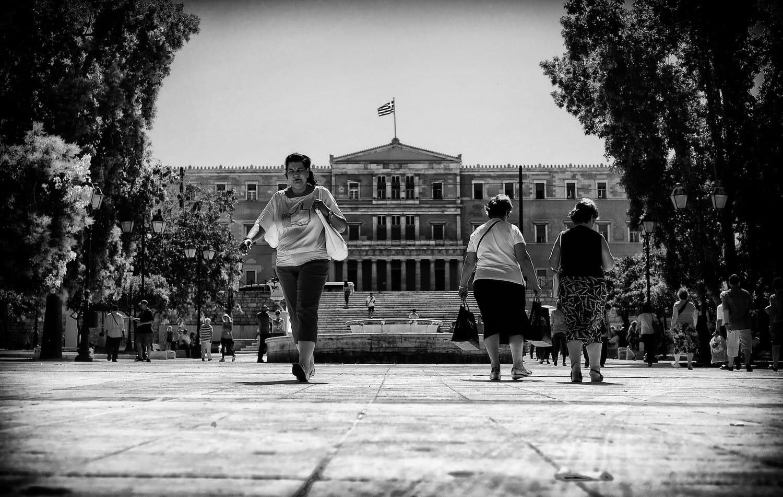 athens-i-like-syntagma-bw