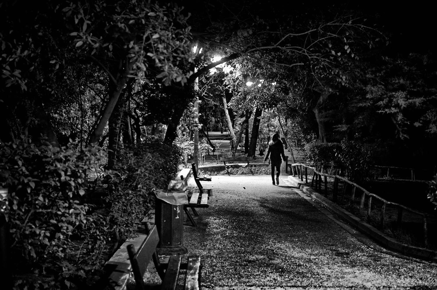 athens-lonely-walk-in-the-park