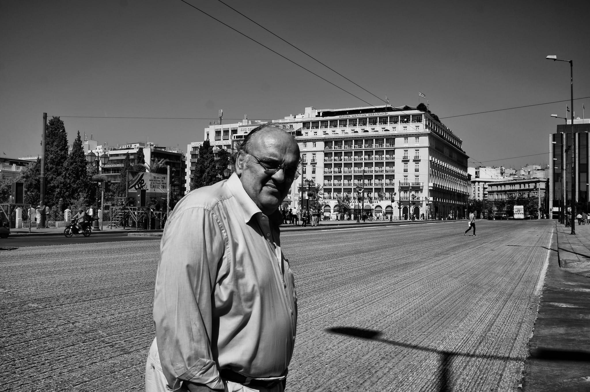 Empty Syntagma Square