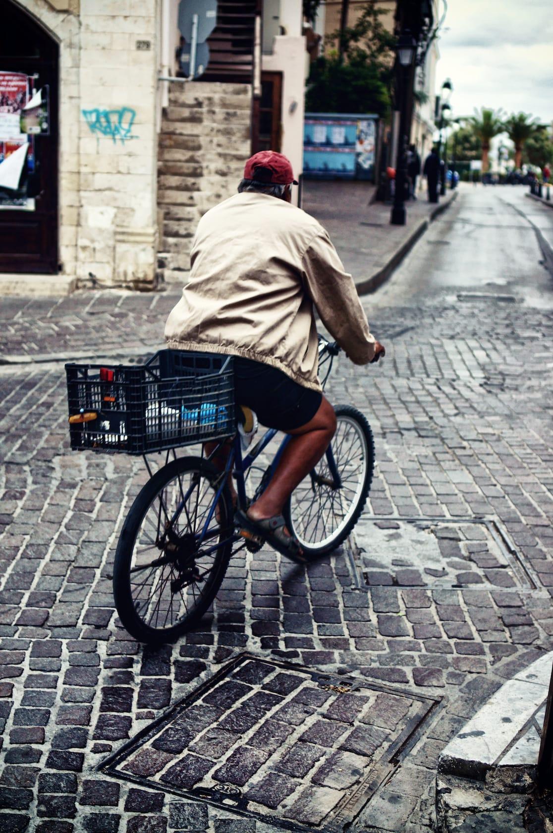 Cycling in Rethymno