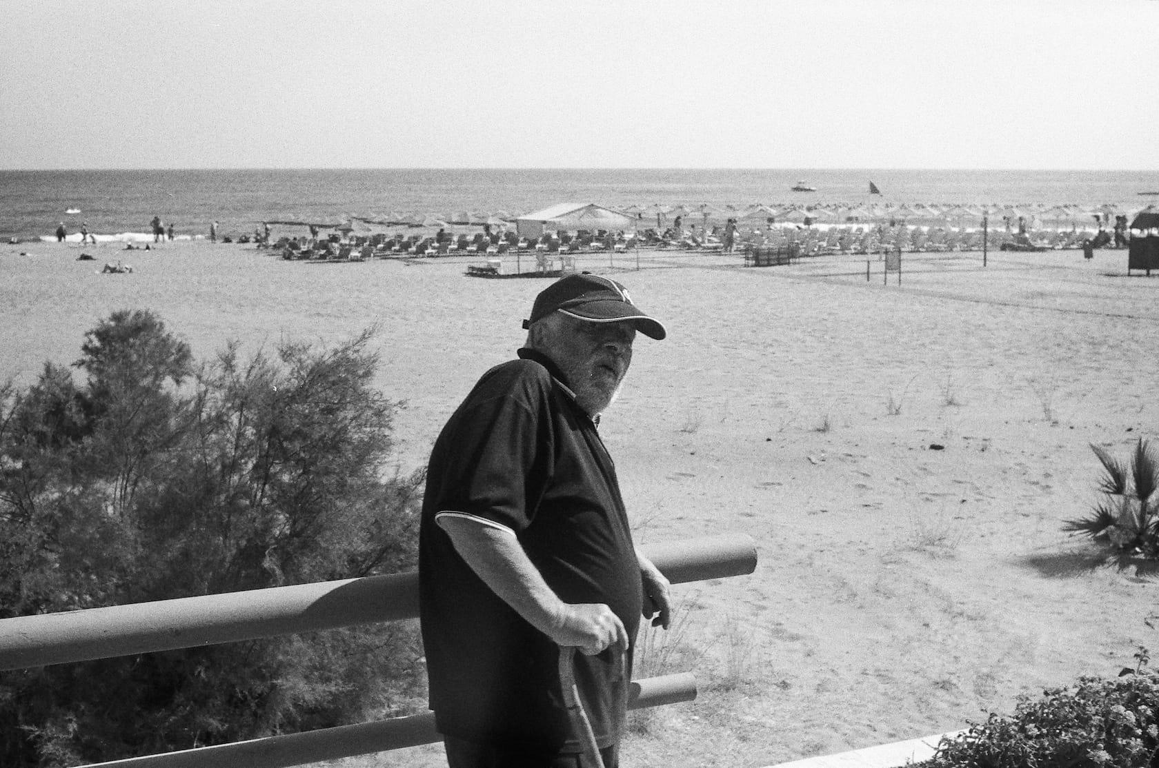 Old man at Beach