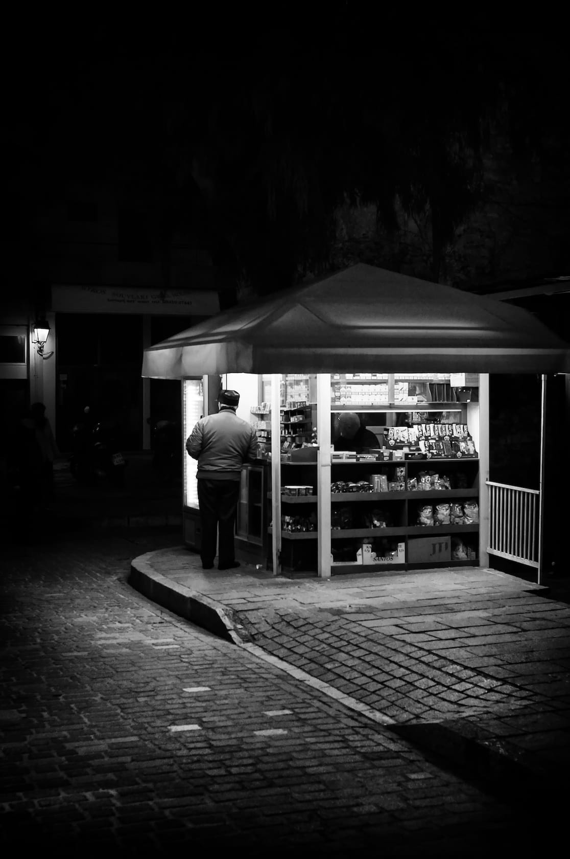 The kiosk at Platanos