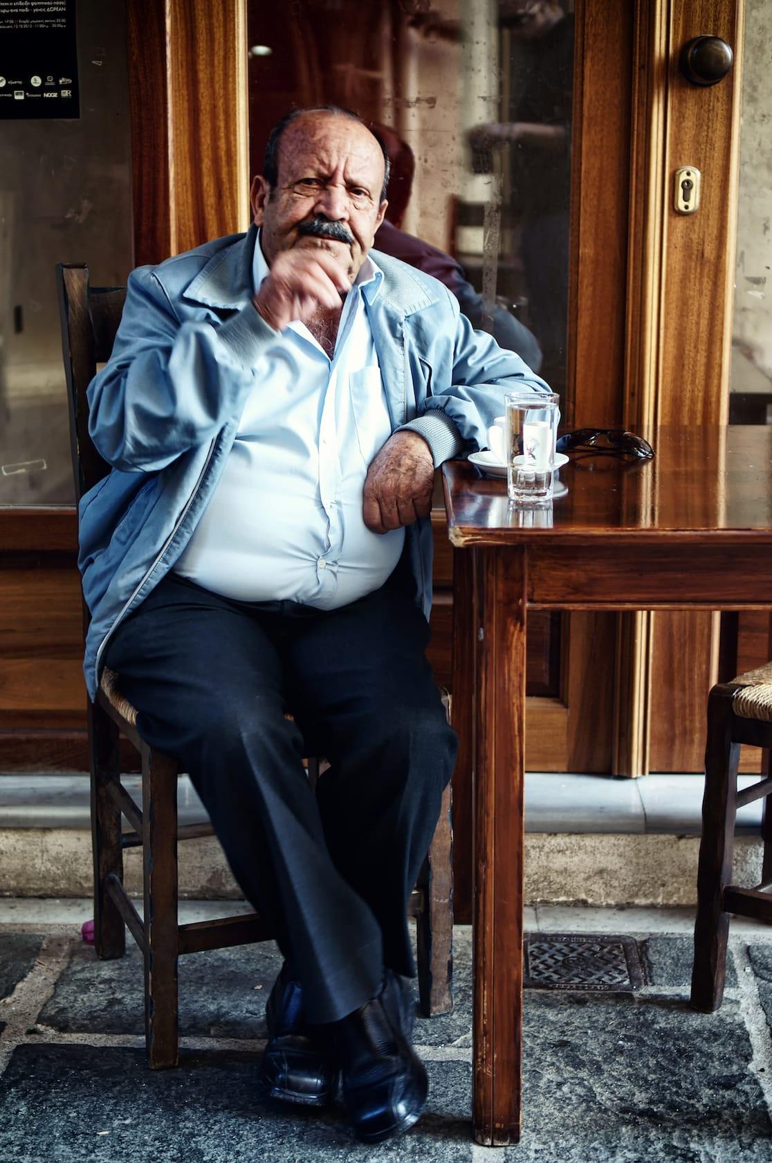 Morning Greek coffee
