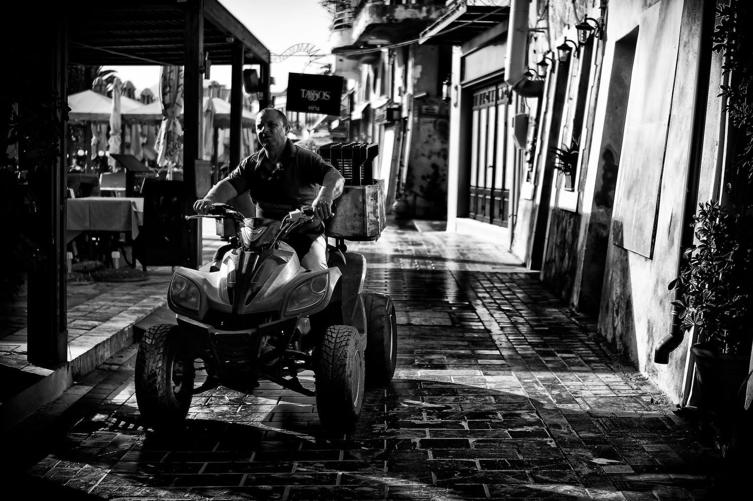 on-the-buggy-bw