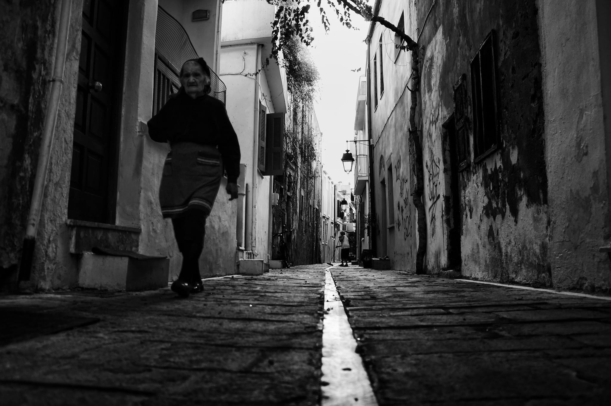 One morning in the Old Town of Rethymno