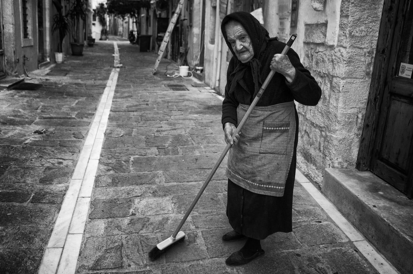 Still sweeping