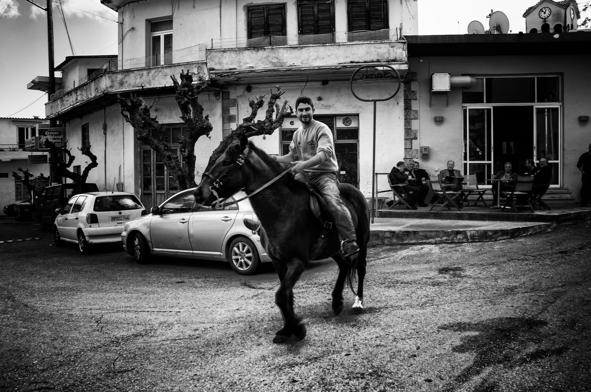 The Rider of Melidoni