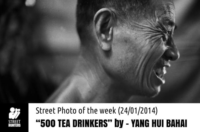 500 tea drinkers by Yang Hui Bahai