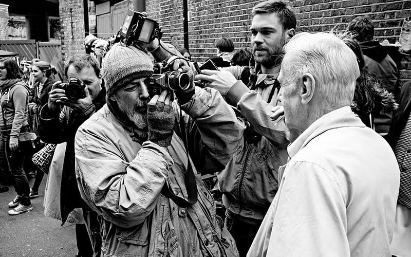 Bruce Gilden Street Photographer