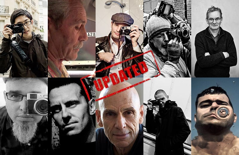 Influential Street Photographers Updated