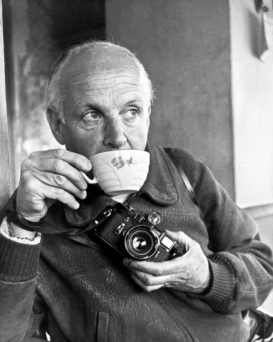 henri cartier bresson Photography is just luck there was a fence, and i poked my camera through the fence it's a fraction of a second henri cartier-bresson.