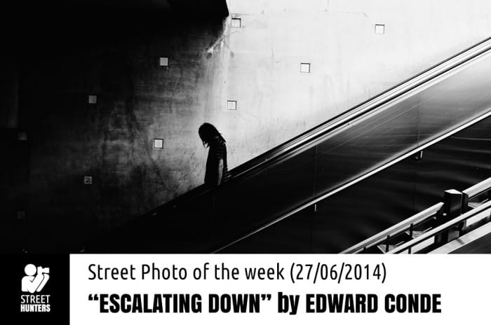 Featured Escalating Down by Edward Conde