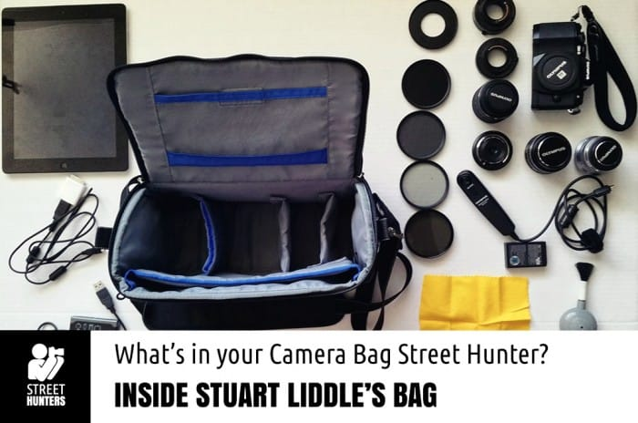 Stuart Liddle's Camera Bag