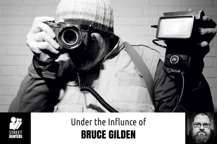 Under the Influence of Bruce Gilden