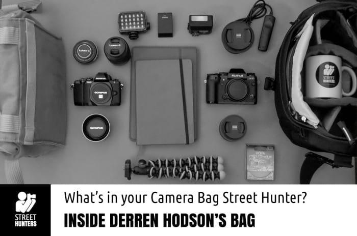 Derren Hodson's Camera Bag promo