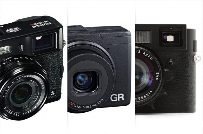 X100s RicohGR LeicaM