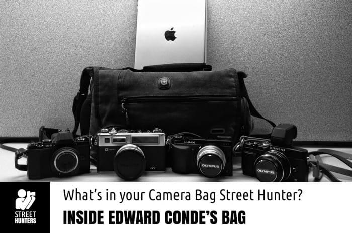 Edward Conde camera bag