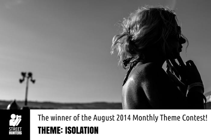 Winner of Isolation Contest by Roving Eye 365