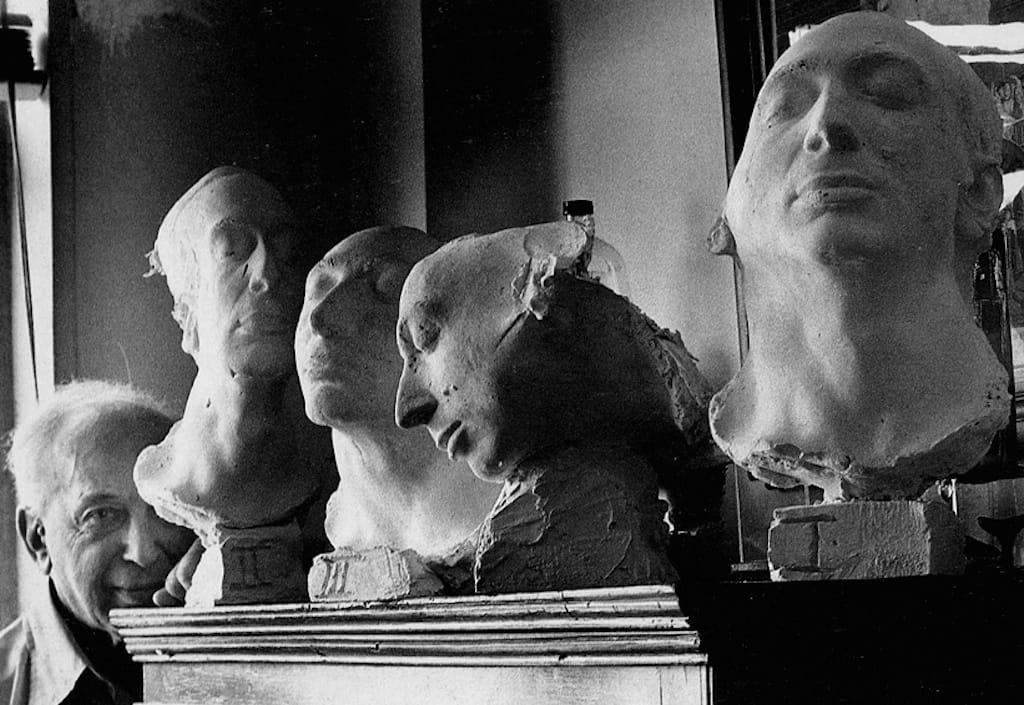 André Kertész masks