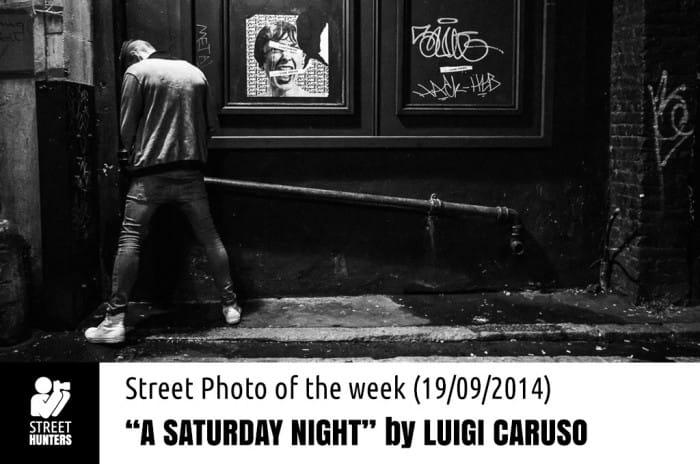 A Saturday Night by Luigi Caruso promo