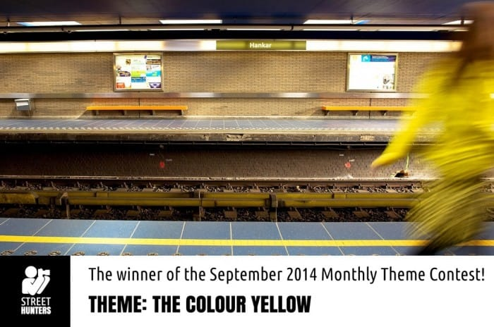 Winner of The Colour Yellow Contest by Ximena Echague promo