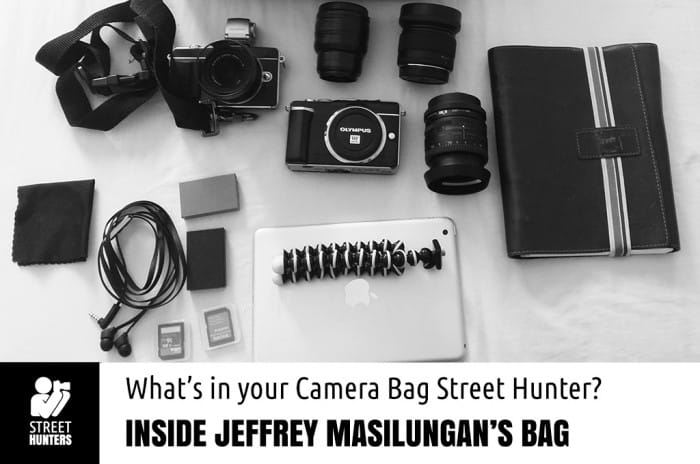 Jeffrey Masilungan's Camera Bag promo