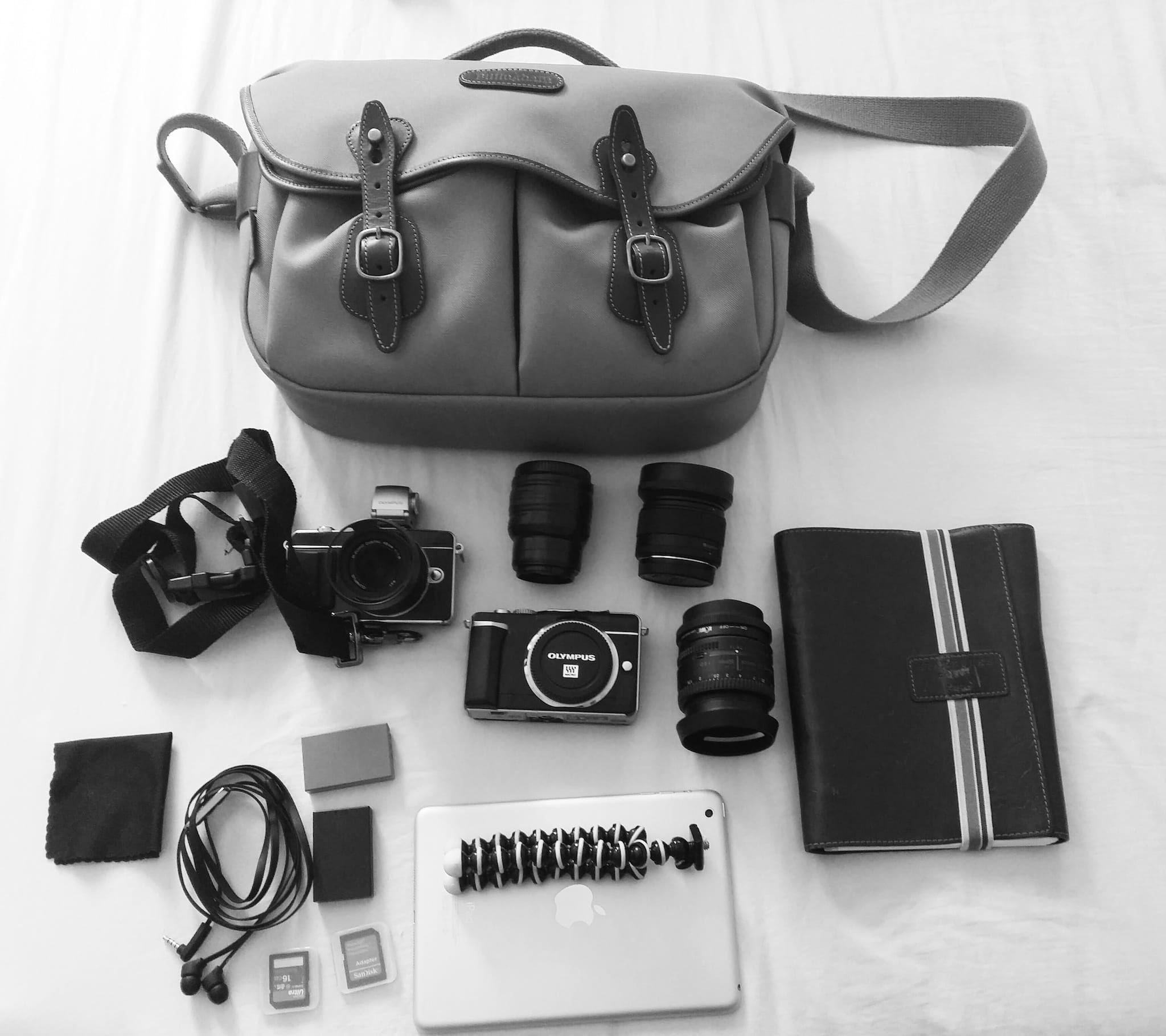 Jeffrey Masilungan's Camera Bag