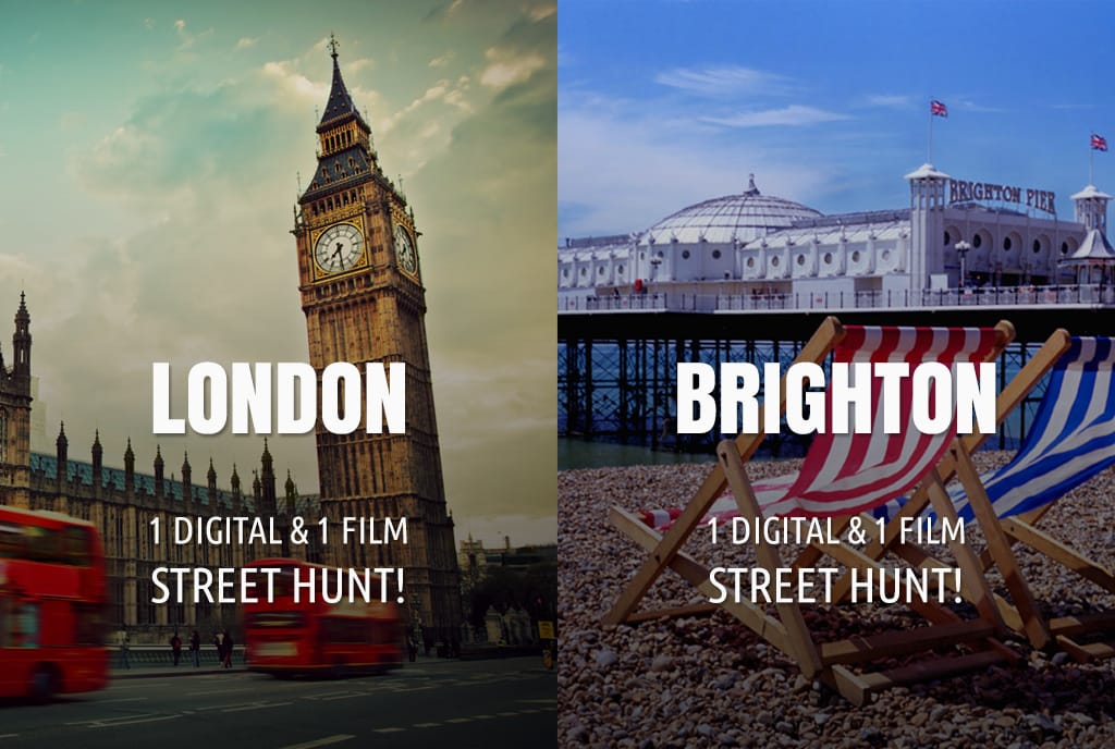 Street Hunts in London Brighton Indiegogo project