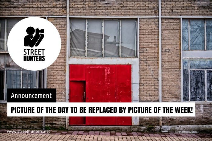 Announcement - PotD replaced with PotW