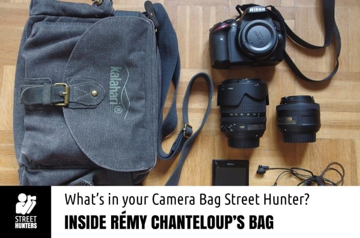 Remy Chanteloup Camera Bag promo