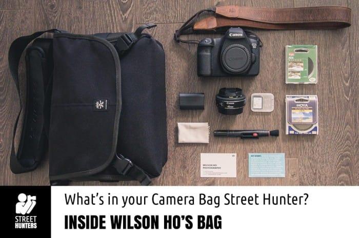 Wilson Ho's Camera Bag Promo