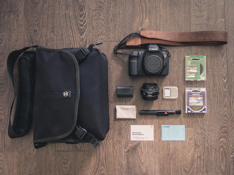 Wilson Ho's Camera Bag