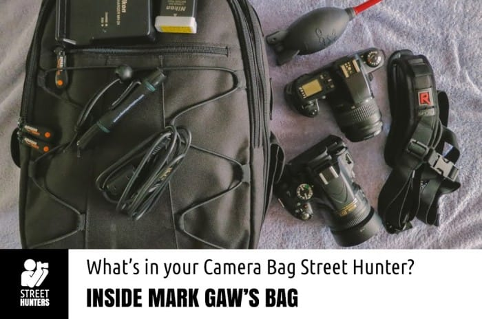 Camera Bag Mark Gaw promo