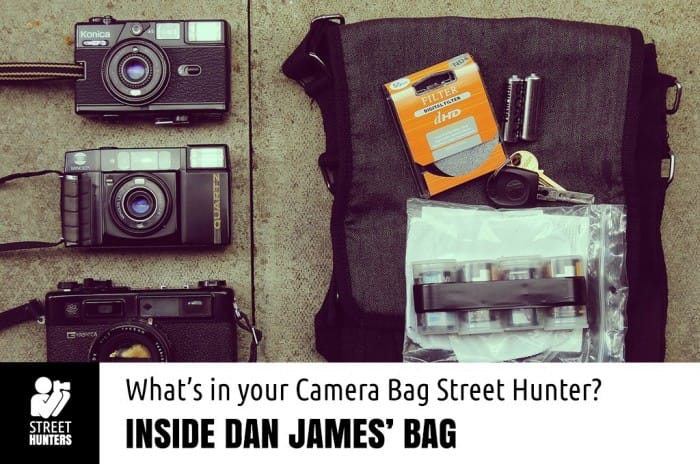 Dan James Camera Bag promo