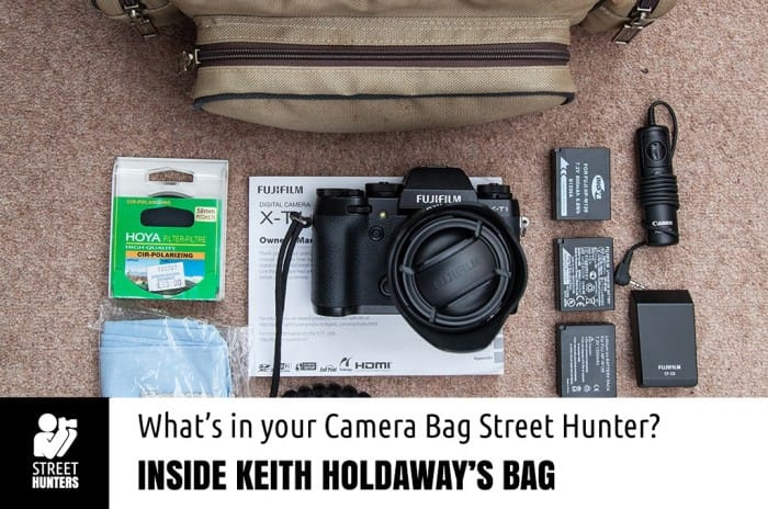 Keith Holdaway's Camera Bag