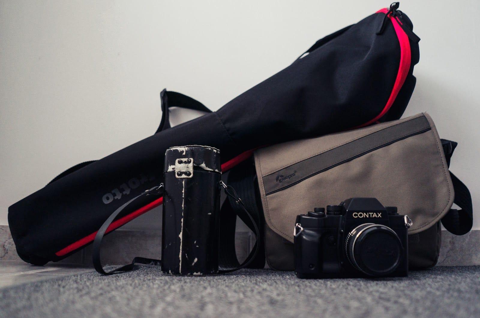 Loads of camera gear and stuff